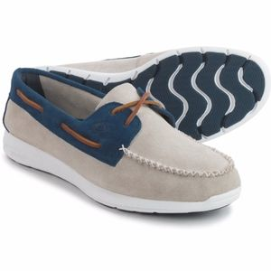 Sperry Sojourn Leather 2 Eye Boat Shoes